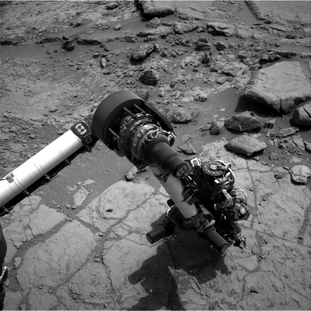 NASA's Mars rover Curiosity acquired this image using its Left Navigation Camera (Navcams) on Sol 170
