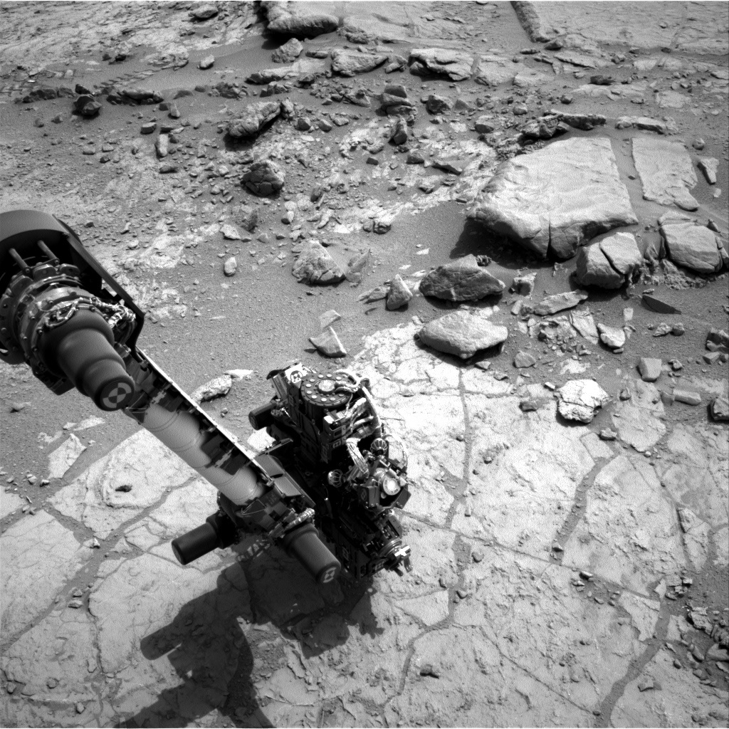 NASA's Mars rover Curiosity acquired this image using its Right Navigation Cameras (Navcams) on Sol 170