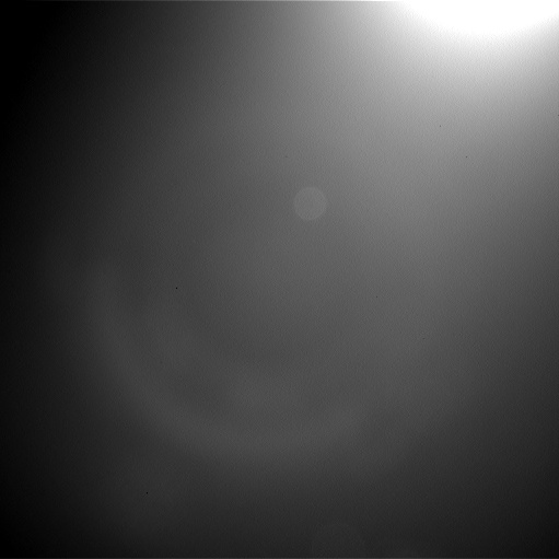 Image taken by Navcam: Left A