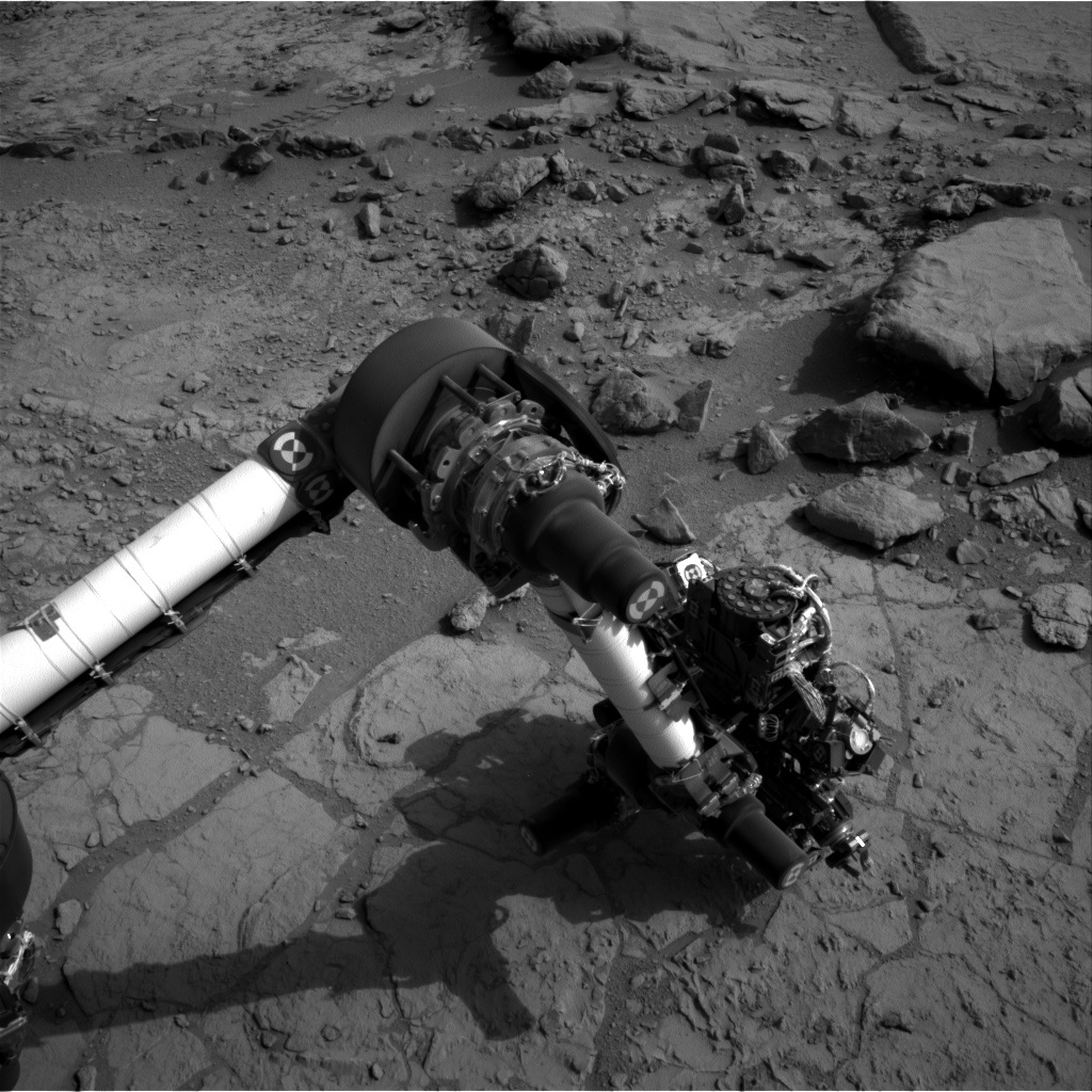 NASA's Mars rover Curiosity acquired this image using its Left Navigation Camera (Navcams) on Sol 171