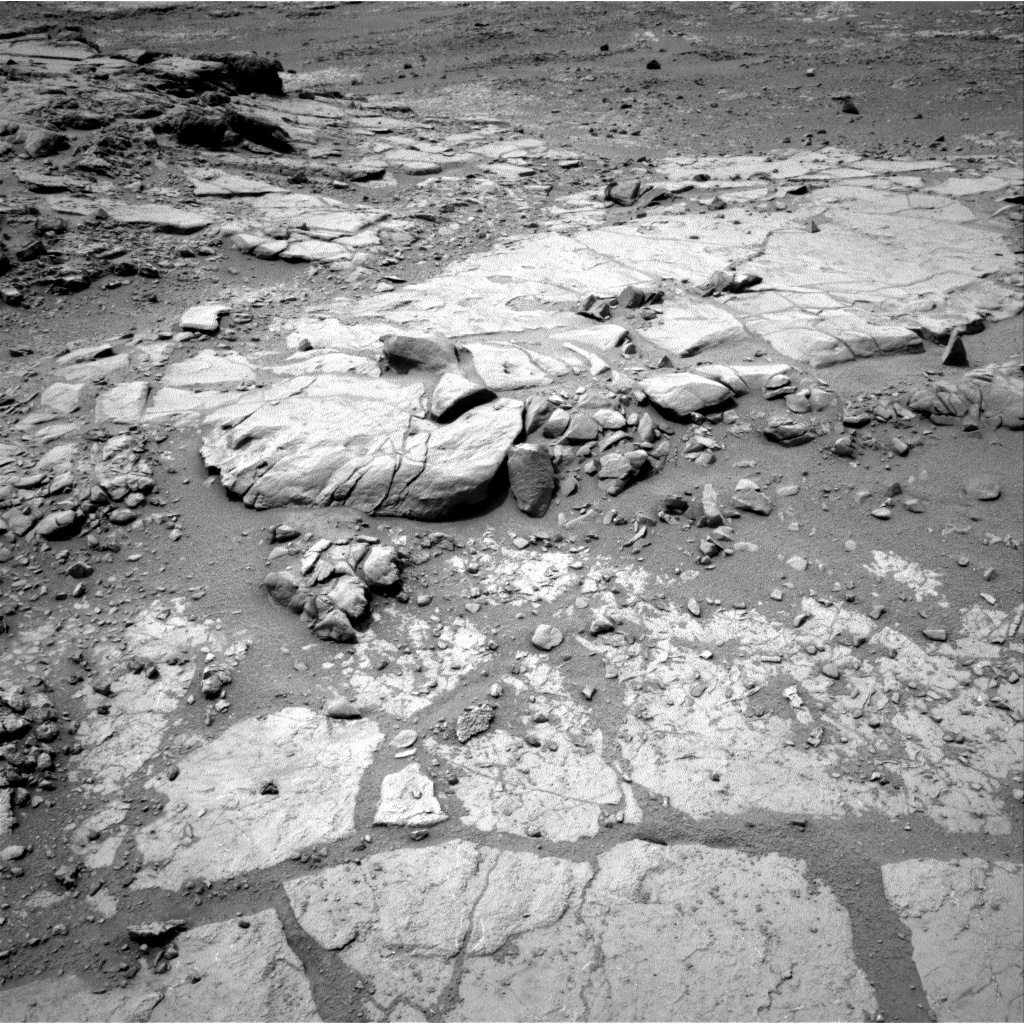 NASA's Mars rover Curiosity acquired this image using its Right Navigation Cameras (Navcams) on Sol 171
