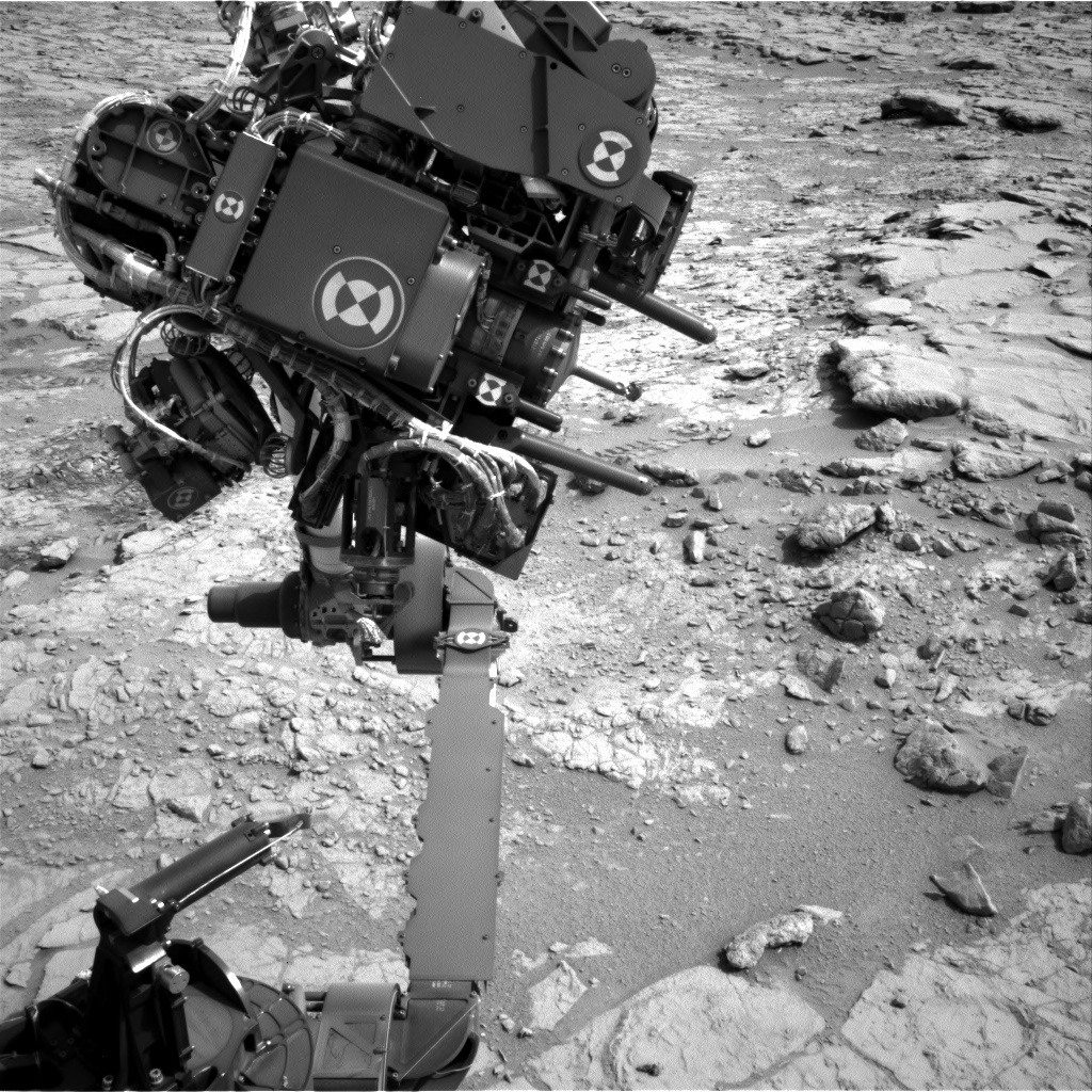 NASA's Mars rover Curiosity acquired this image using its Left Navigation Camera (Navcams) on Sol 172