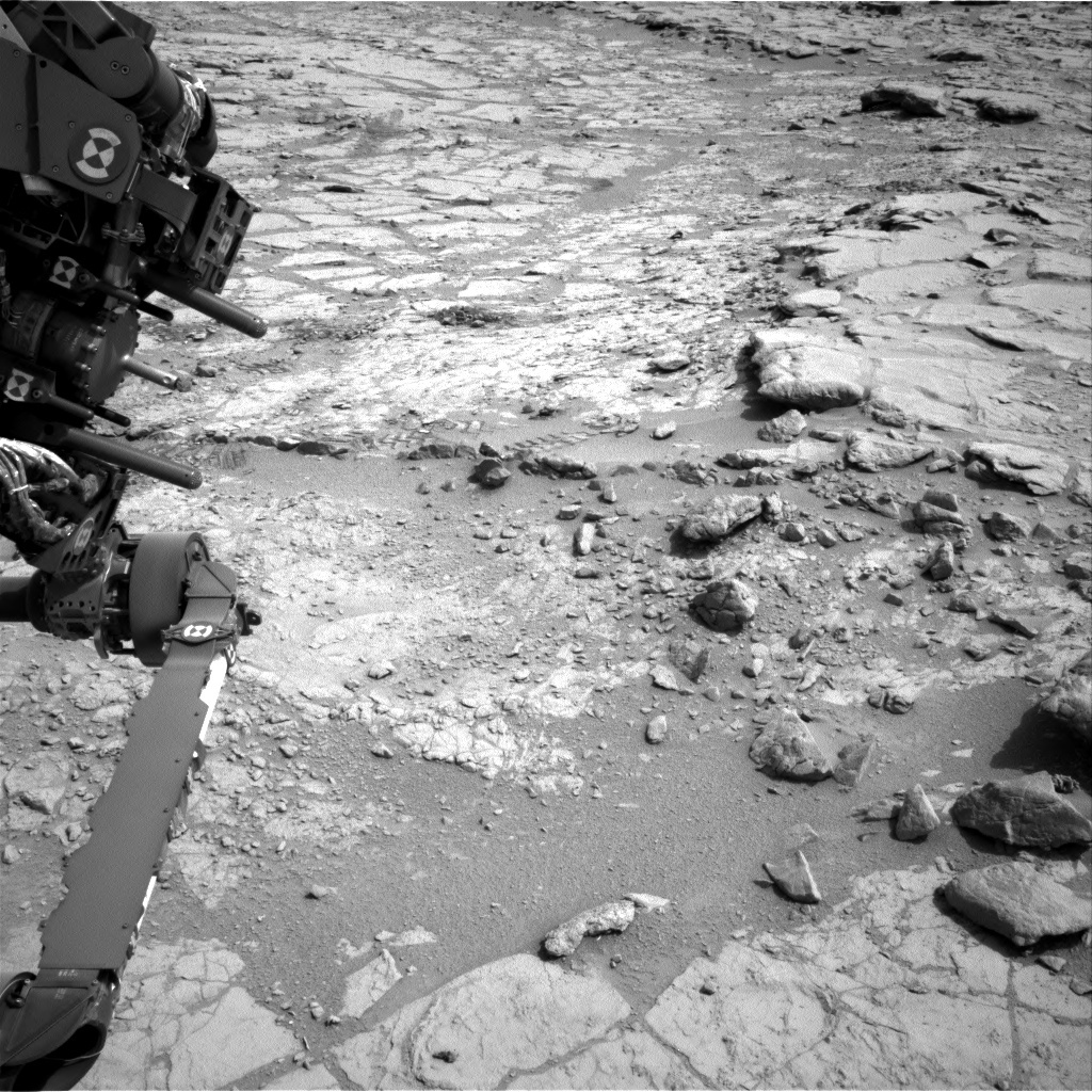 NASA's Mars rover Curiosity acquired this image using its Right Navigation Cameras (Navcams) on Sol 172