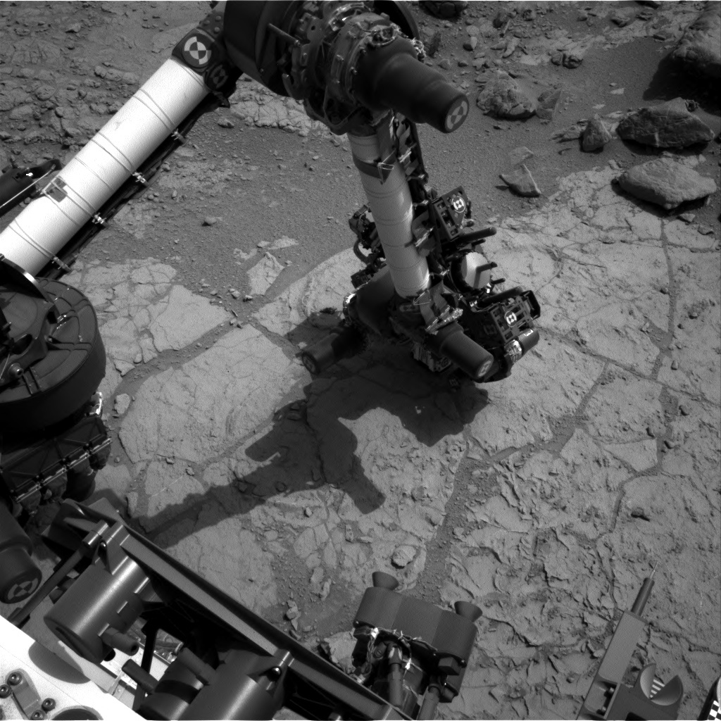 NASA's Mars rover Curiosity acquired this image using its Left Navigation Camera (Navcams) on Sol 173