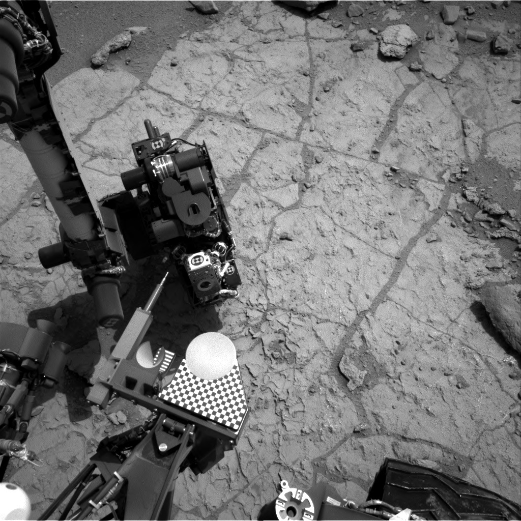 NASA's Mars rover Curiosity acquired this image using its Right Navigation Cameras (Navcams) on Sol 173