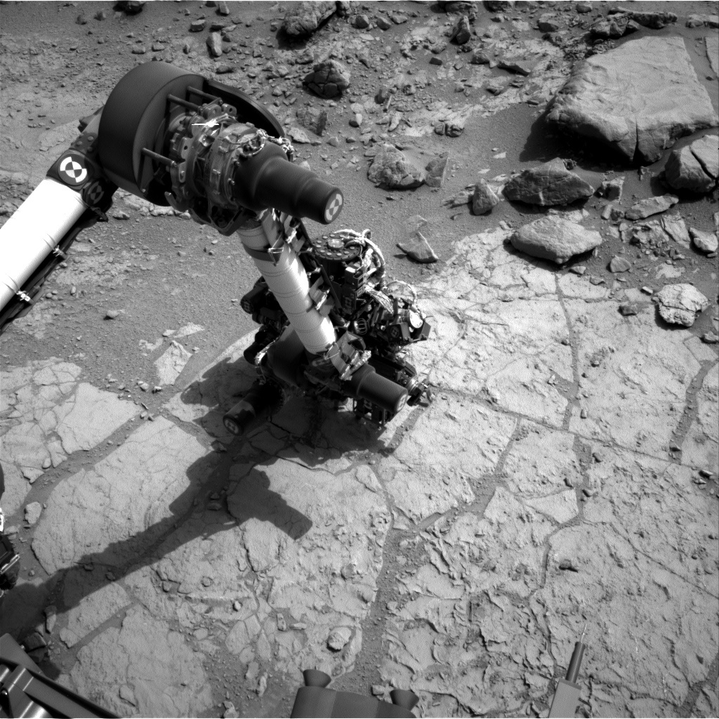 NASA's Mars rover Curiosity acquired this image using its Left Navigation Camera (Navcams) on Sol 174