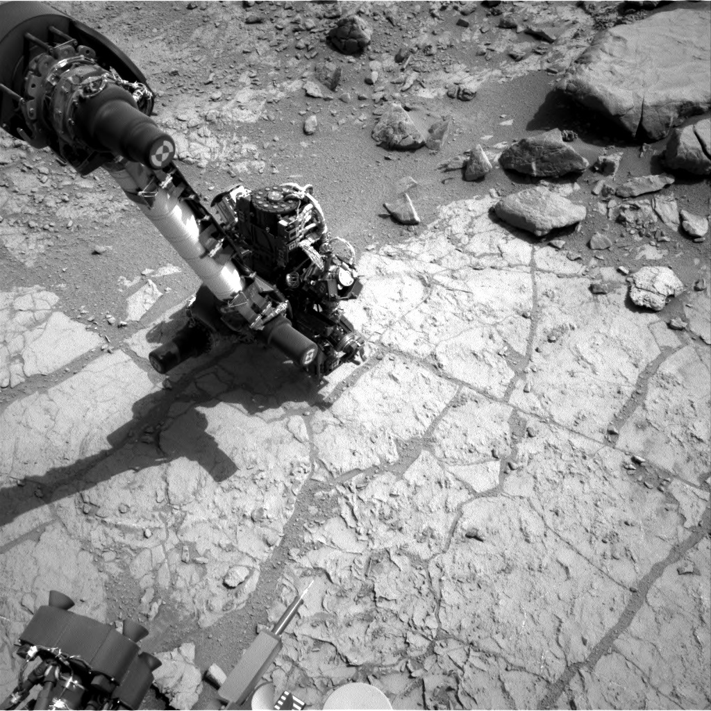 NASA's Mars rover Curiosity acquired this image using its Right Navigation Cameras (Navcams) on Sol 174
