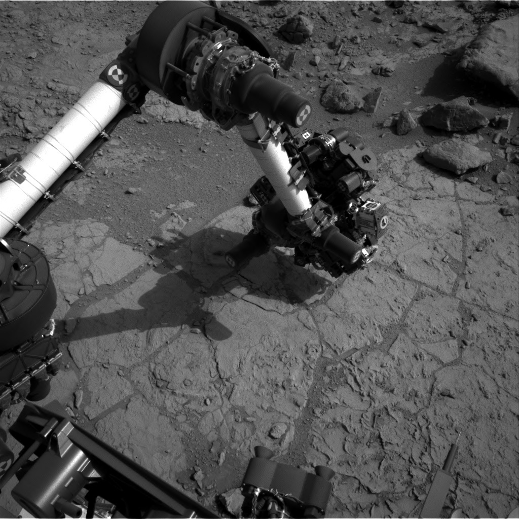 NASA's Mars rover Curiosity acquired this image using its Left Navigation Camera (Navcams) on Sol 176