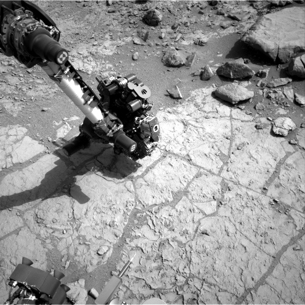 NASA's Mars rover Curiosity acquired this image using its Right Navigation Cameras (Navcams) on Sol 176
