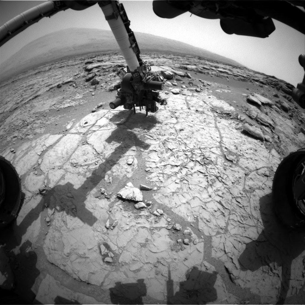 NASA's Mars rover Curiosity acquired this image using its Front Hazard Avoidance Cameras (Front Hazcams) on Sol 178