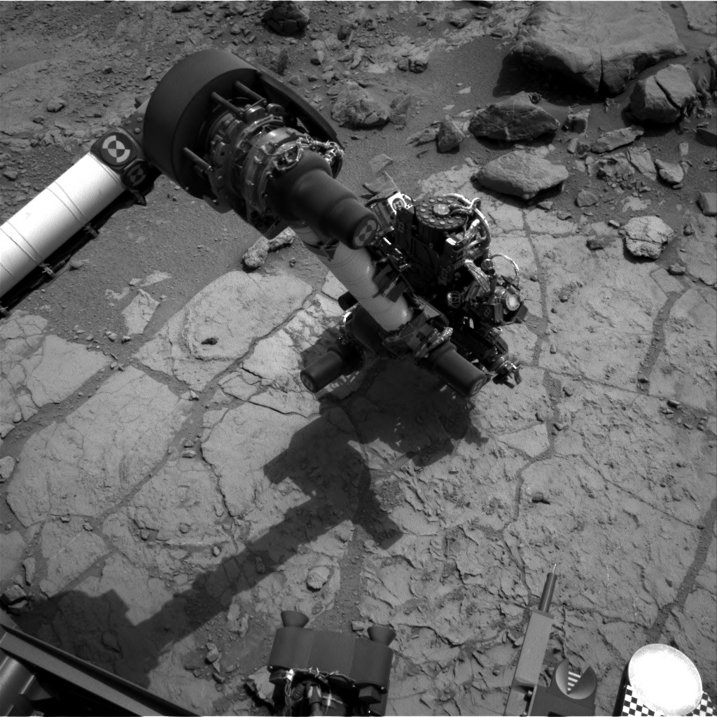 NASA's Mars rover Curiosity acquired this image using its Left Navigation Camera (Navcams) on Sol 178