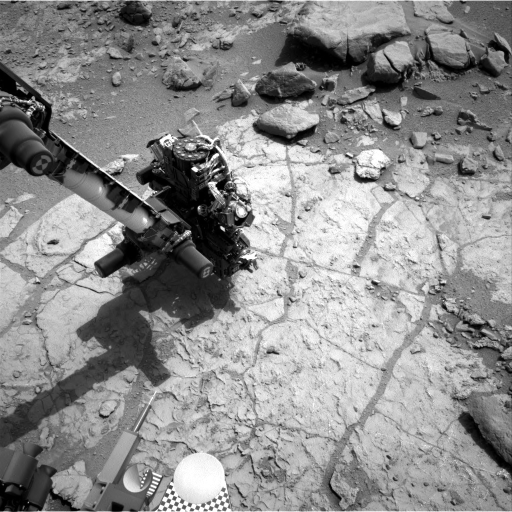 NASA's Mars rover Curiosity acquired this image using its Right Navigation Cameras (Navcams) on Sol 178
