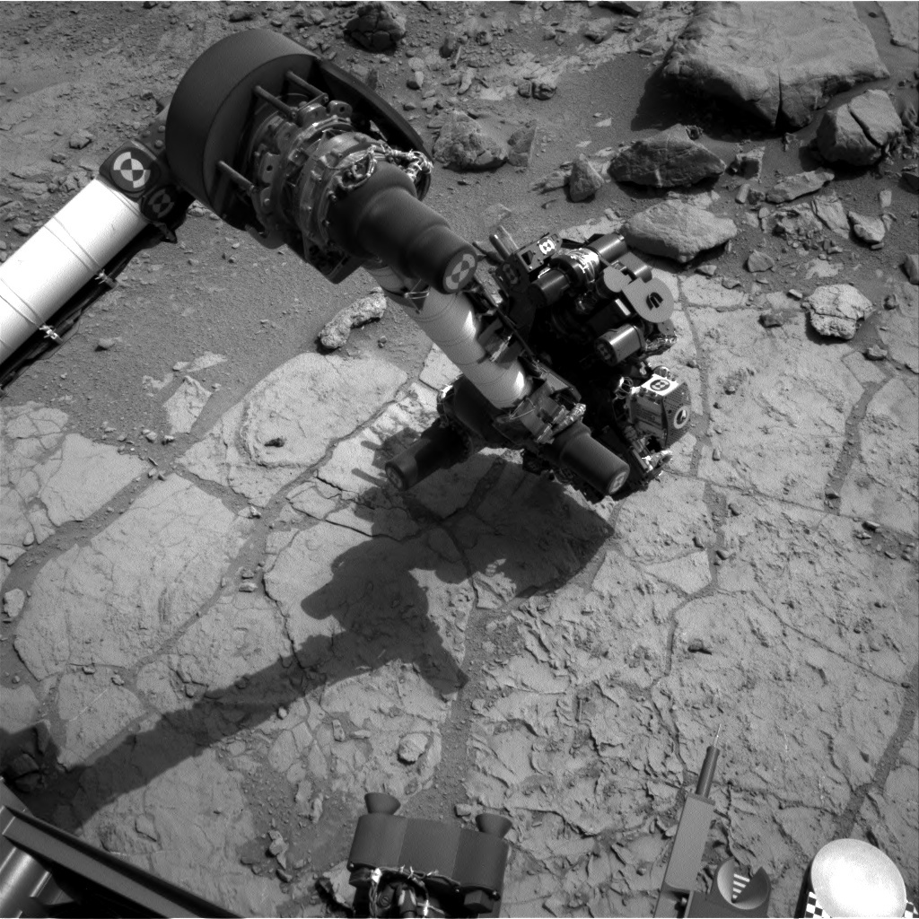 NASA's Mars rover Curiosity acquired this image using its Left Navigation Camera (Navcams) on Sol 180