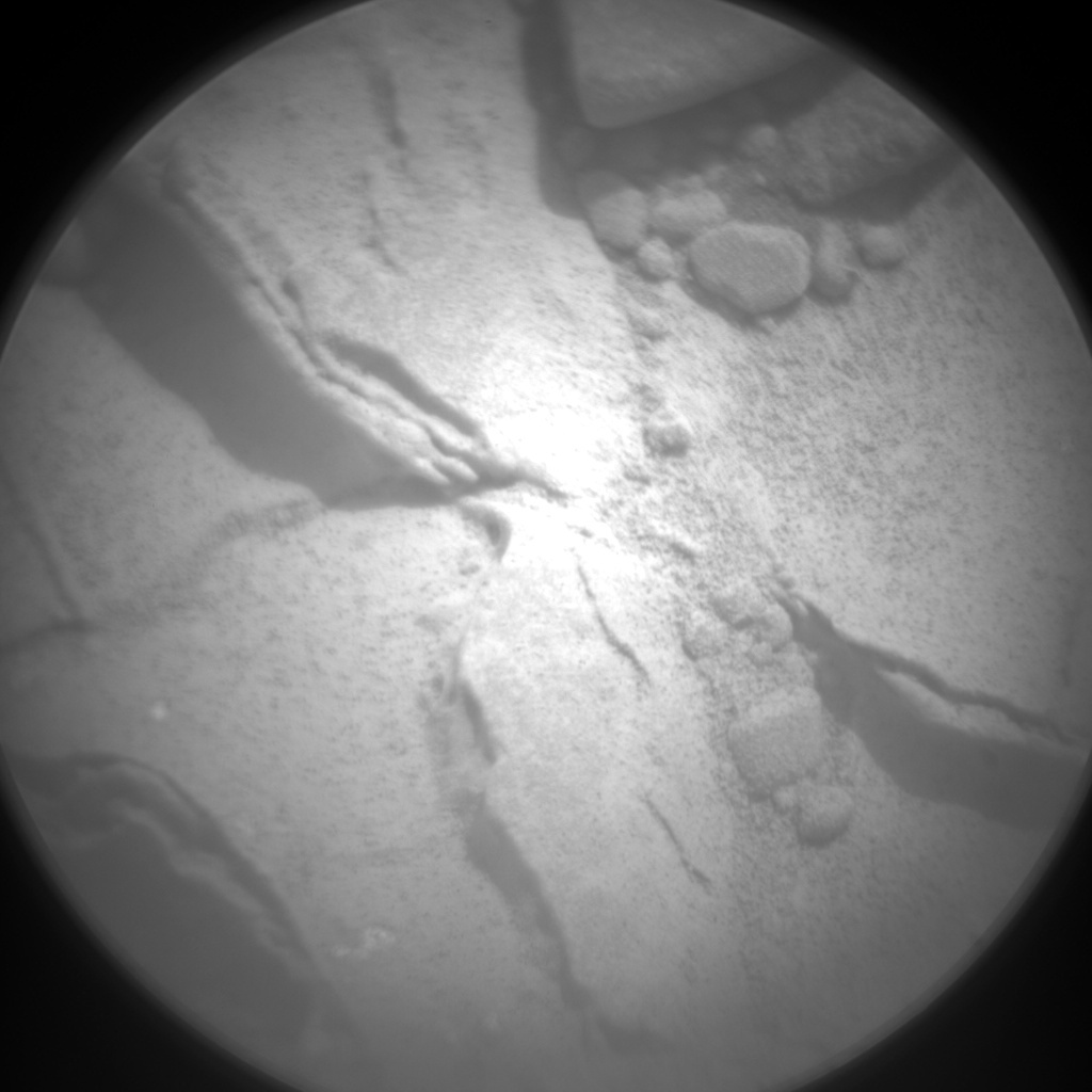 NASA's Mars rover Curiosity acquired this image using its Chemistry & Camera (ChemCam) on Sol 181