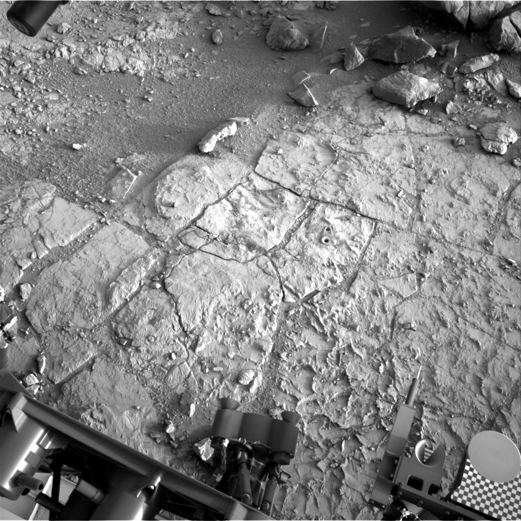 NASA's Mars rover Curiosity acquired this image using its Left Navigation Camera (Navcams) on Sol 182