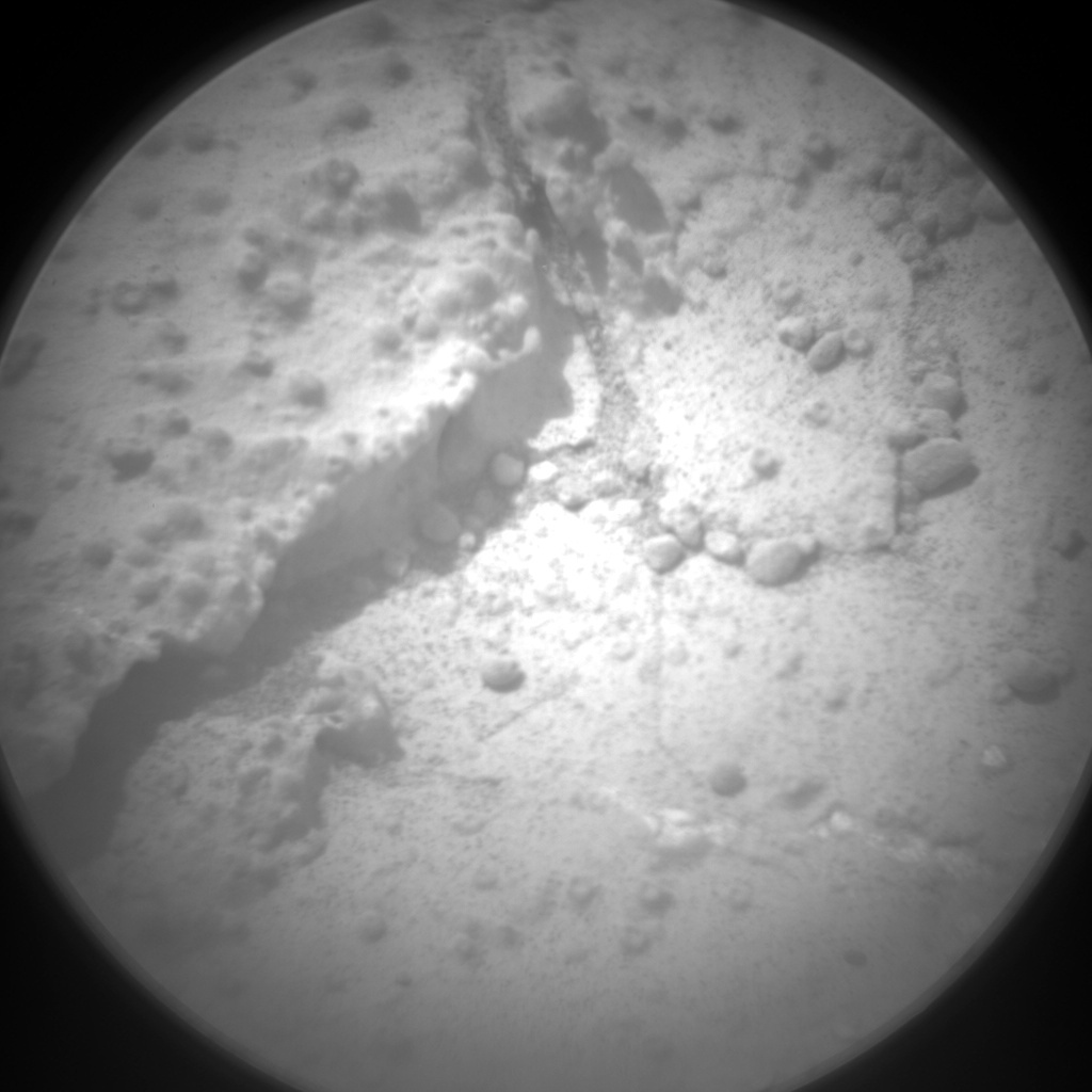 NASA's Mars rover Curiosity acquired this image using its Chemistry & Camera (ChemCam) on Sol 184