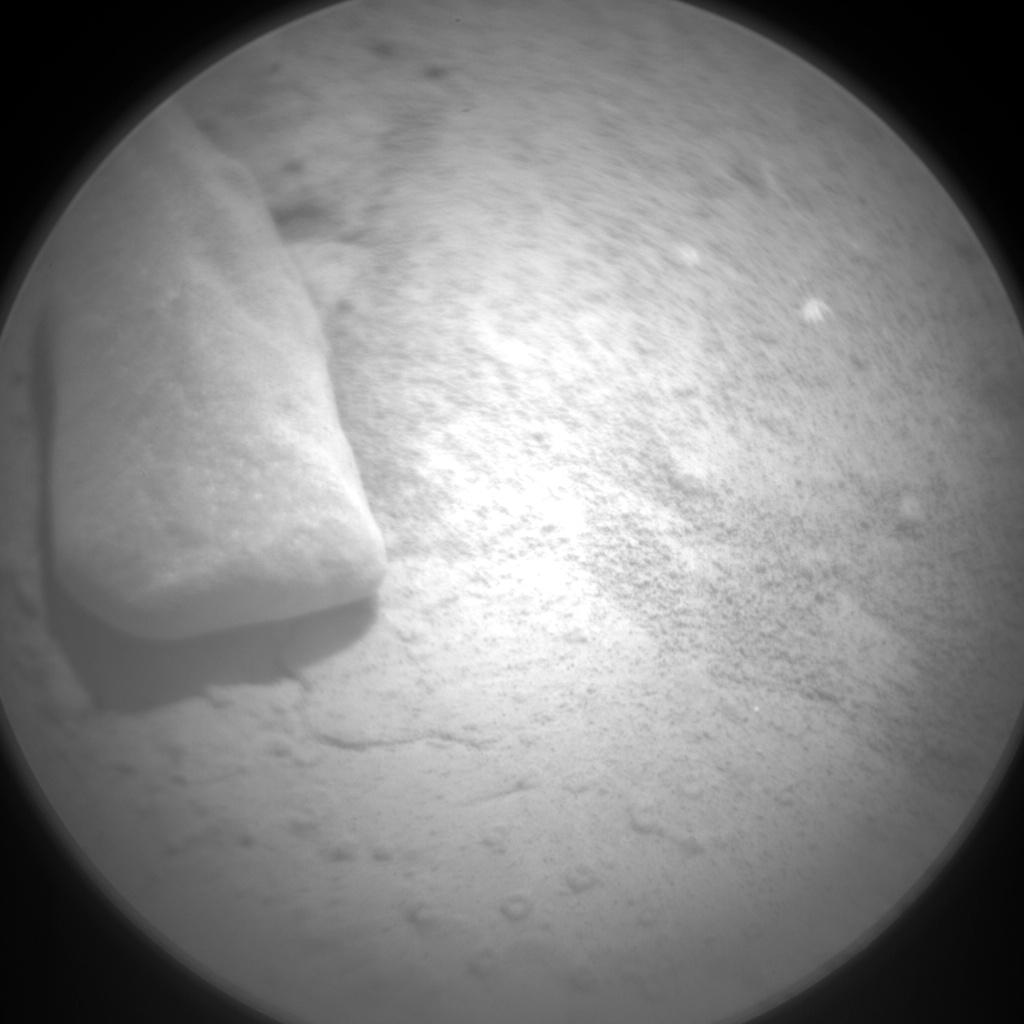 Nasa's Mars rover Curiosity acquired this image using its Chemistry & Camera (ChemCam) on Sol 184, at drive 0, site number 6