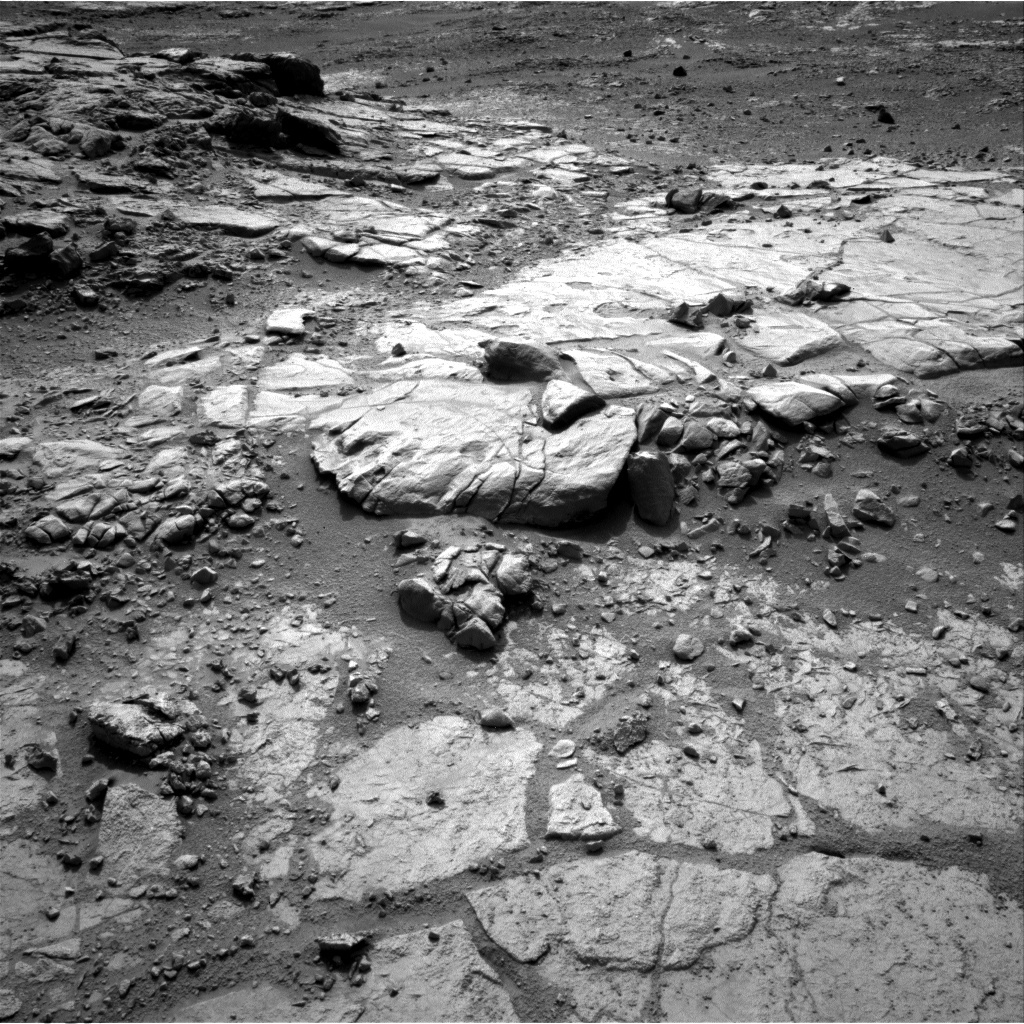 NASA's Mars rover Curiosity acquired this image using its Left Navigation Camera (Navcams) on Sol 184