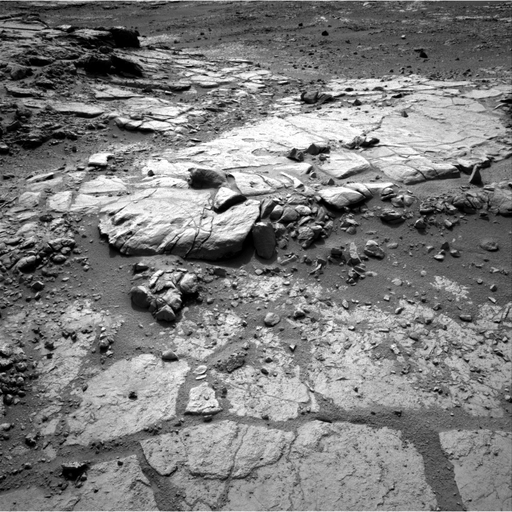 NASA's Mars rover Curiosity acquired this image using its Right Navigation Cameras (Navcams) on Sol 184