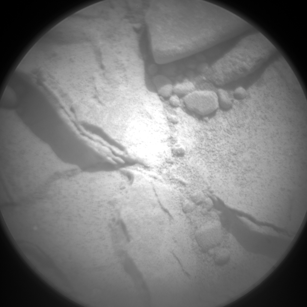 NASA's Mars rover Curiosity acquired this image using its Chemistry & Camera (ChemCam) on Sol 185