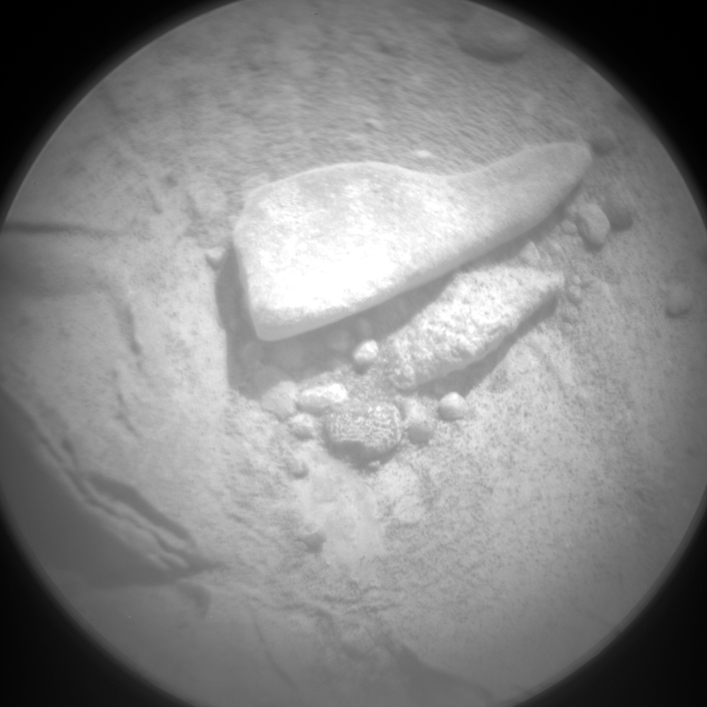 Nasa's Mars rover Curiosity acquired this image using its Chemistry & Camera (ChemCam) on Sol 185, at drive 0, site number 6