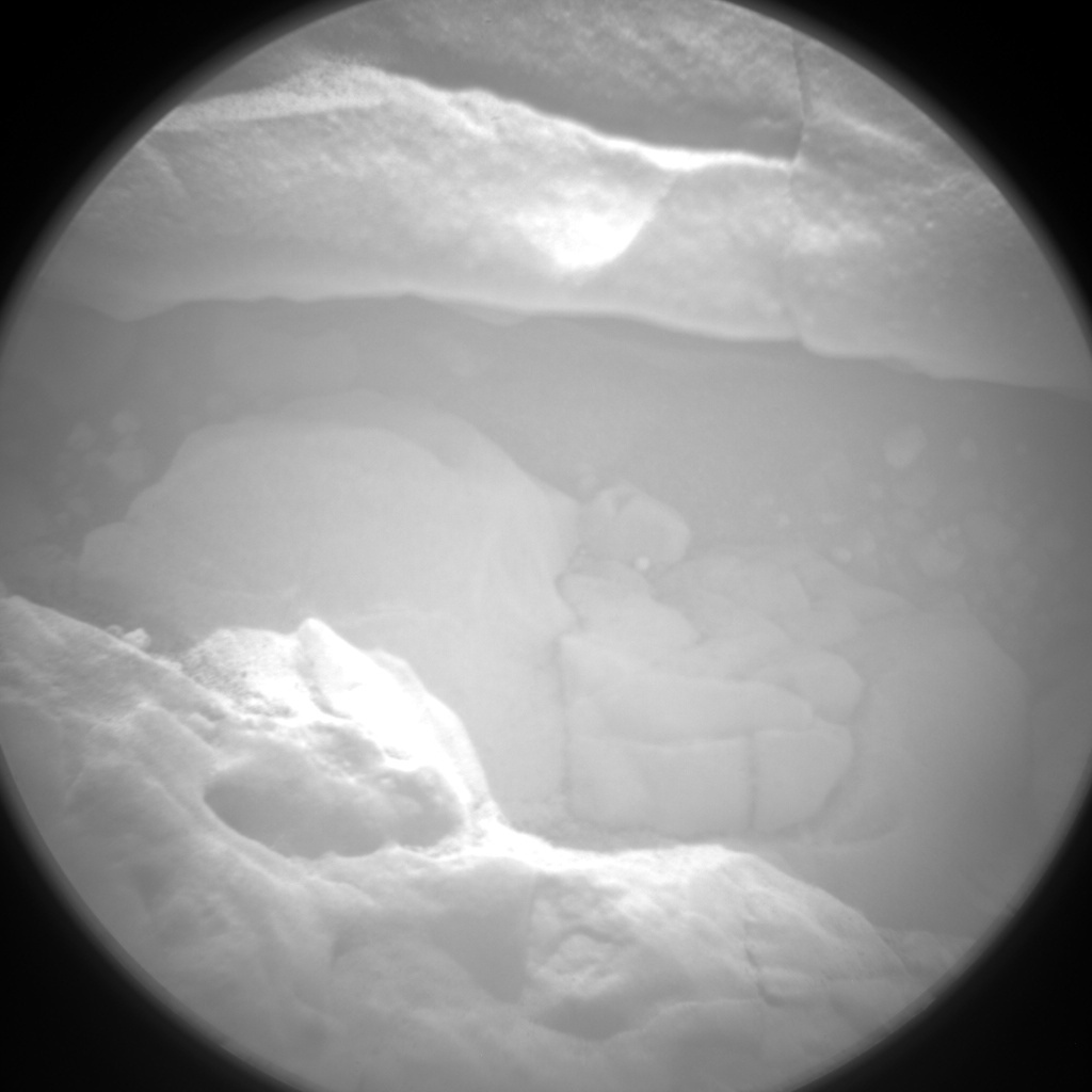 NASA's Mars rover Curiosity acquired this image using its Chemistry & Camera (ChemCam) on Sol 186