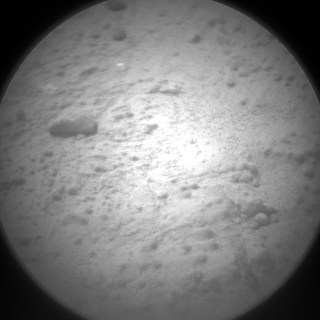 NASA's Mars rover Curiosity acquired this image using its Chemistry & Camera (ChemCam) on Sol 187