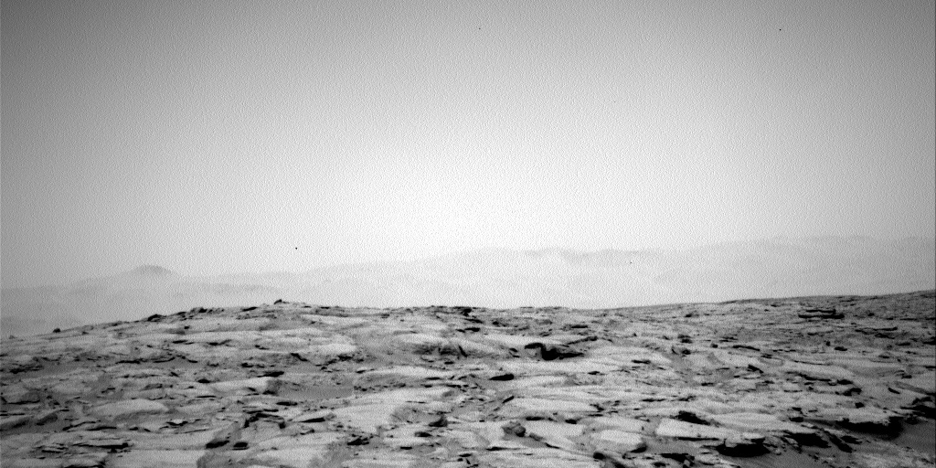 NASA's Mars rover Curiosity acquired this image using its Left Navigation Camera (Navcams) on Sol 187