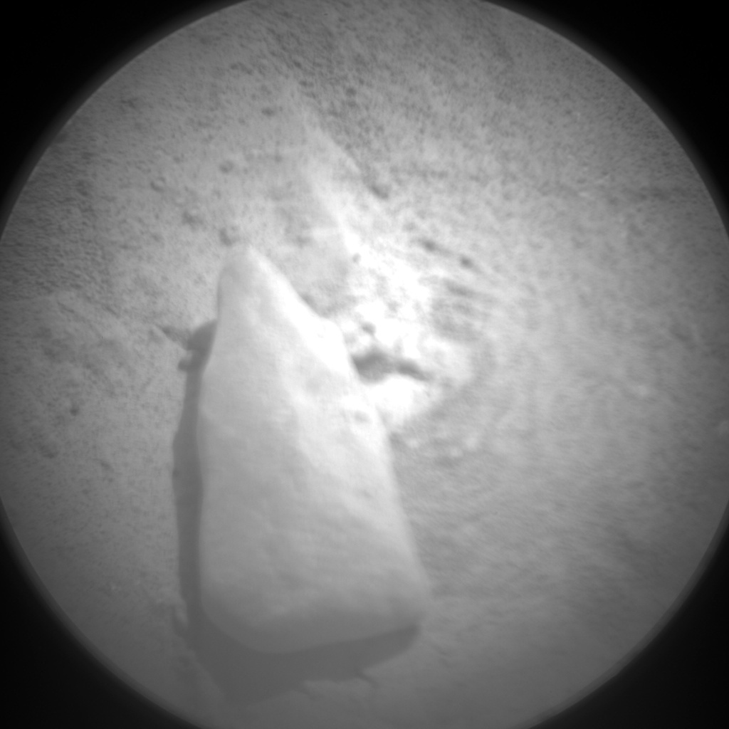 NASA's Mars rover Curiosity acquired this image using its Chemistry & Camera (ChemCam) on Sol 188