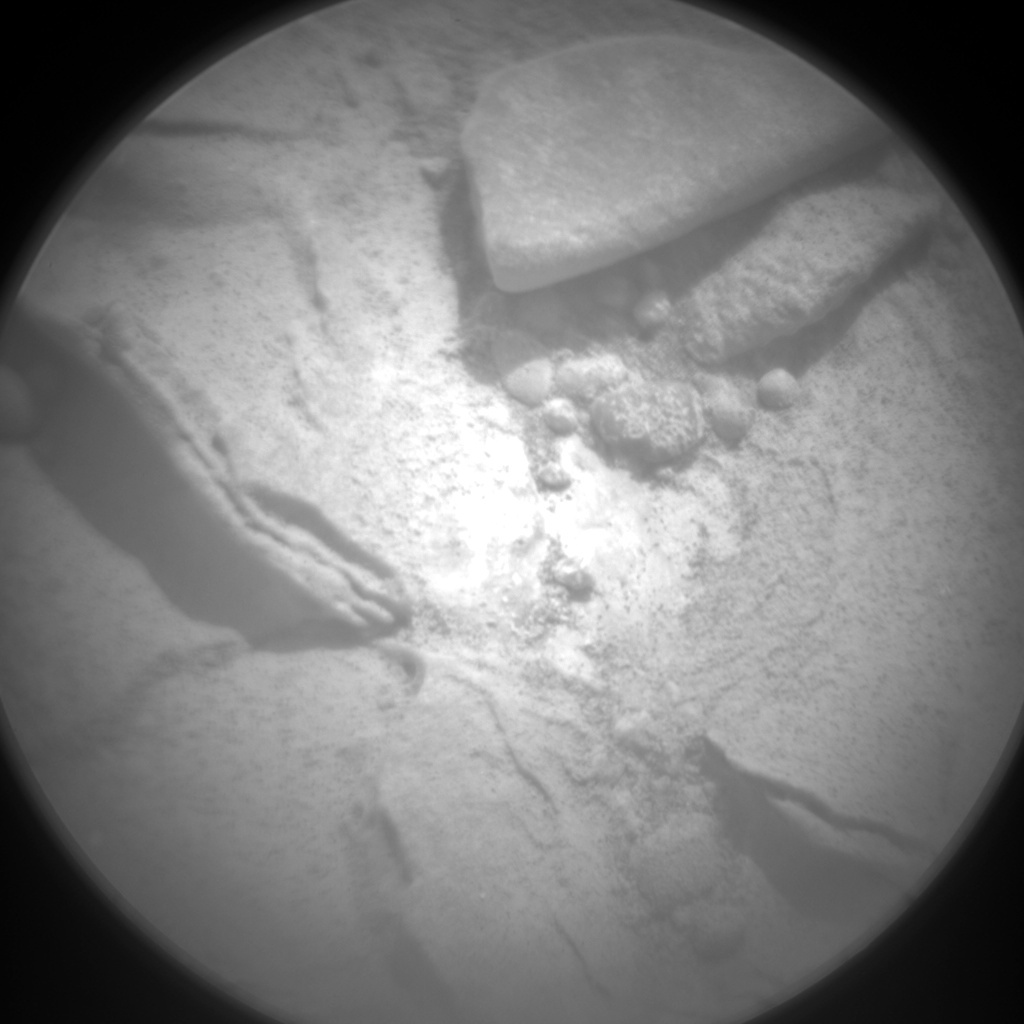 NASA's Mars rover Curiosity acquired this image using its Chemistry & Camera (ChemCam) on Sol 189