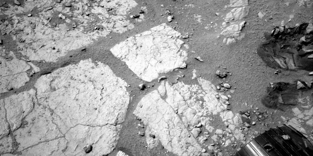 NASA's Mars rover Curiosity acquired this image using its Left Navigation Camera (Navcams) on Sol 190