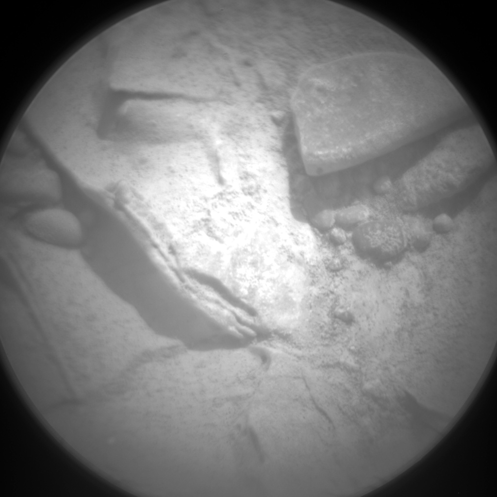 Nasa's Mars rover Curiosity acquired this image using its Chemistry & Camera (ChemCam) on Sol 193, at drive 0, site number 6