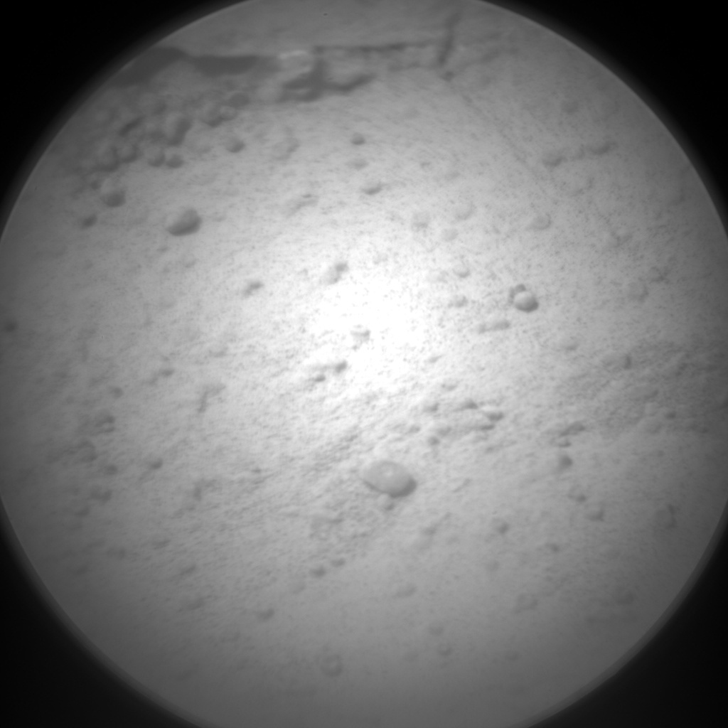 NASA's Mars rover Curiosity acquired this image using its Chemistry & Camera (ChemCam) on Sol 195