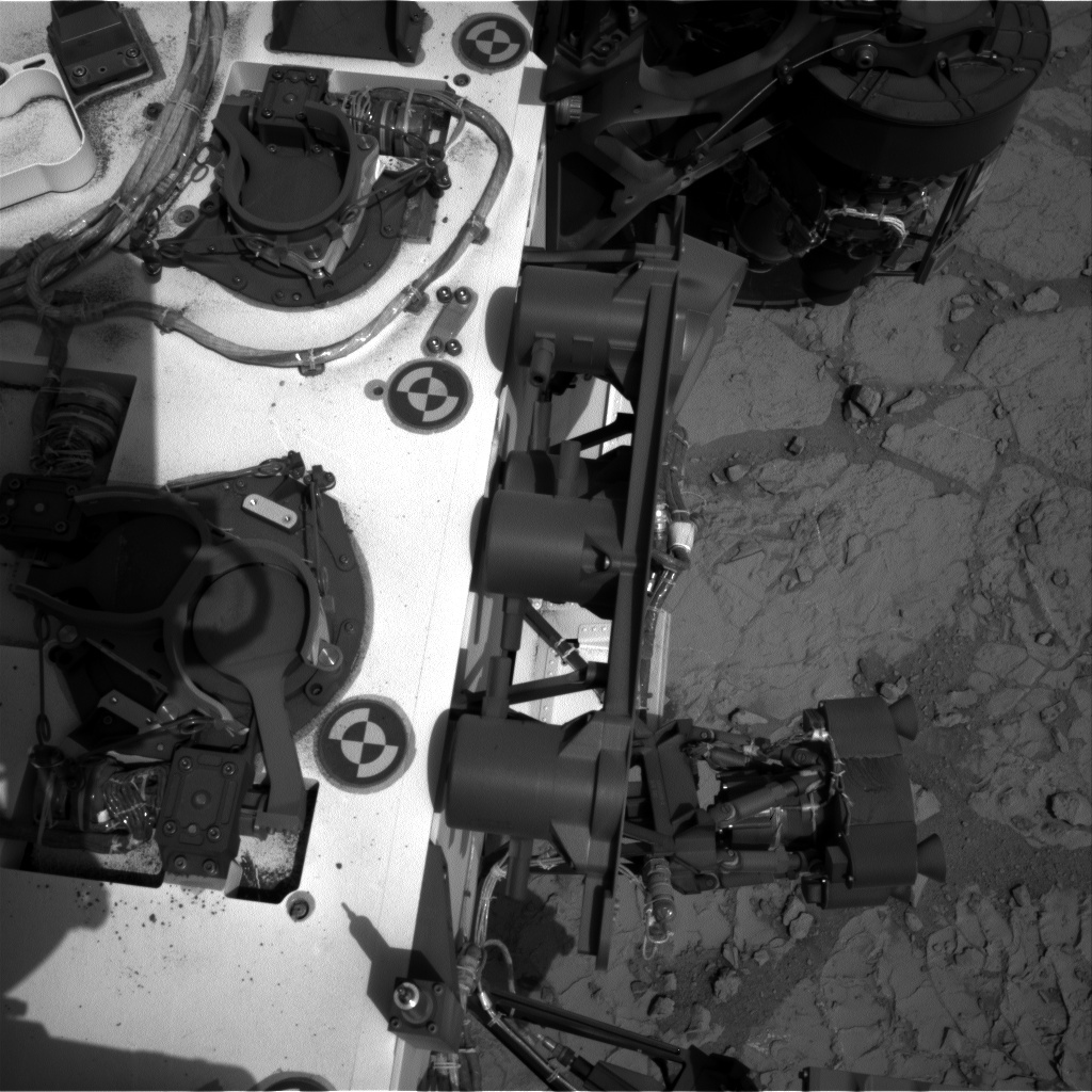 NASA's Mars rover Curiosity acquired this image using its Right Navigation Cameras (Navcams) on Sol 196