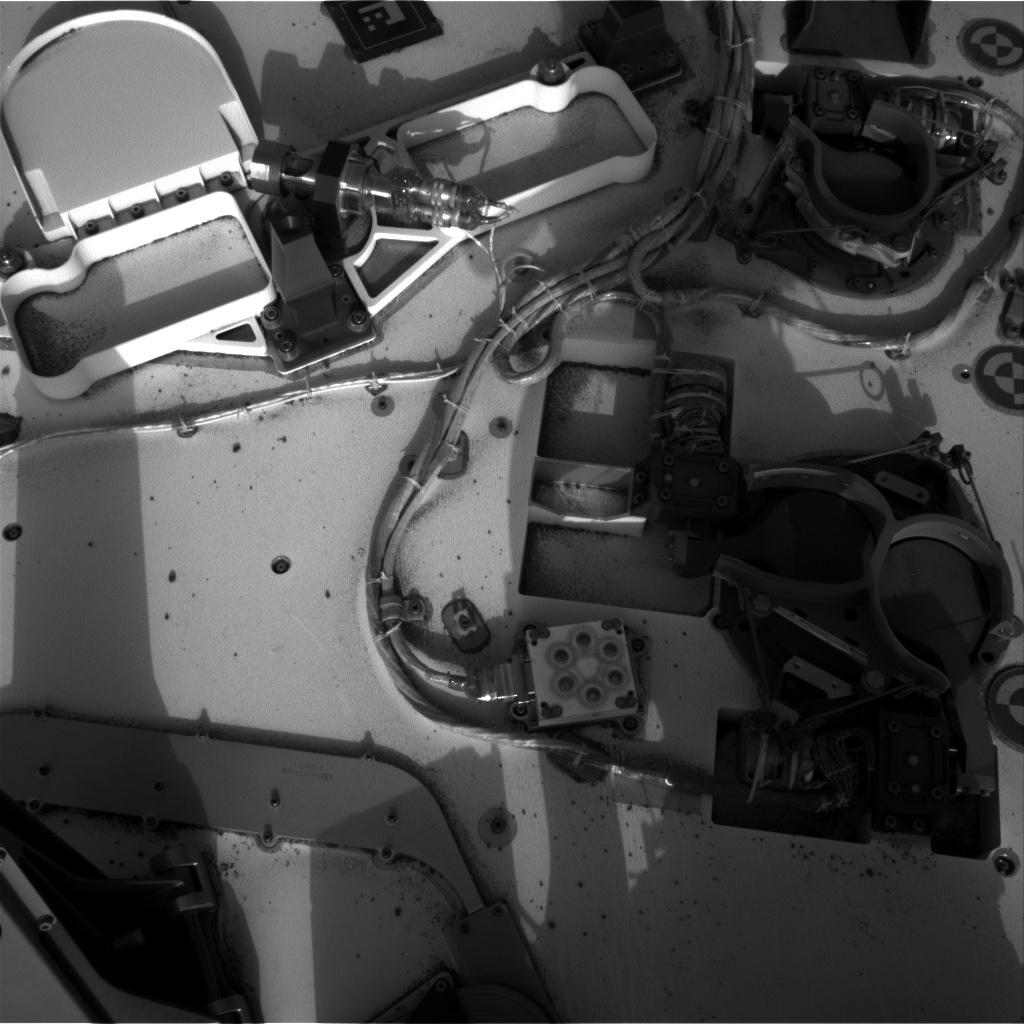 NASA's Mars rover Curiosity acquired this image using its Left Navigation Camera (Navcams) on Sol 199