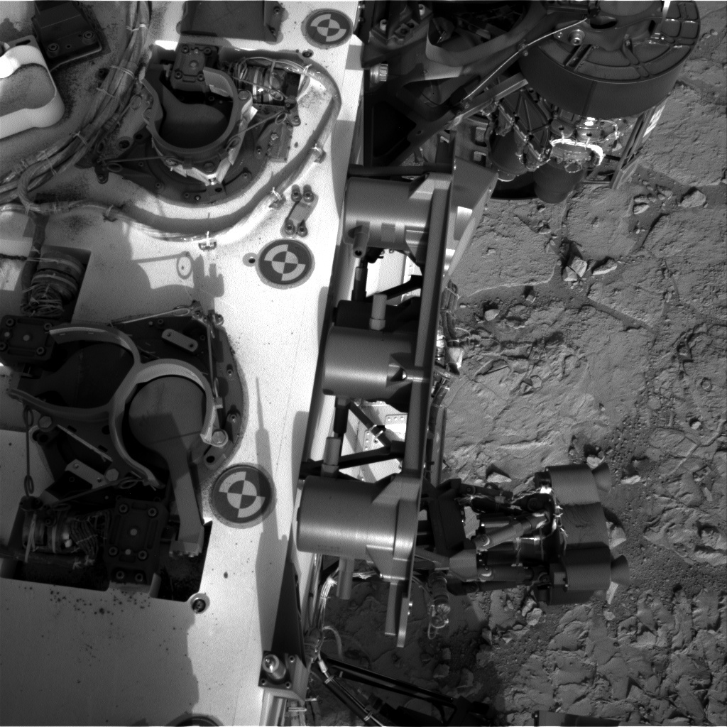 NASA's Mars rover Curiosity acquired this image using its Right Navigation Cameras (Navcams) on Sol 199