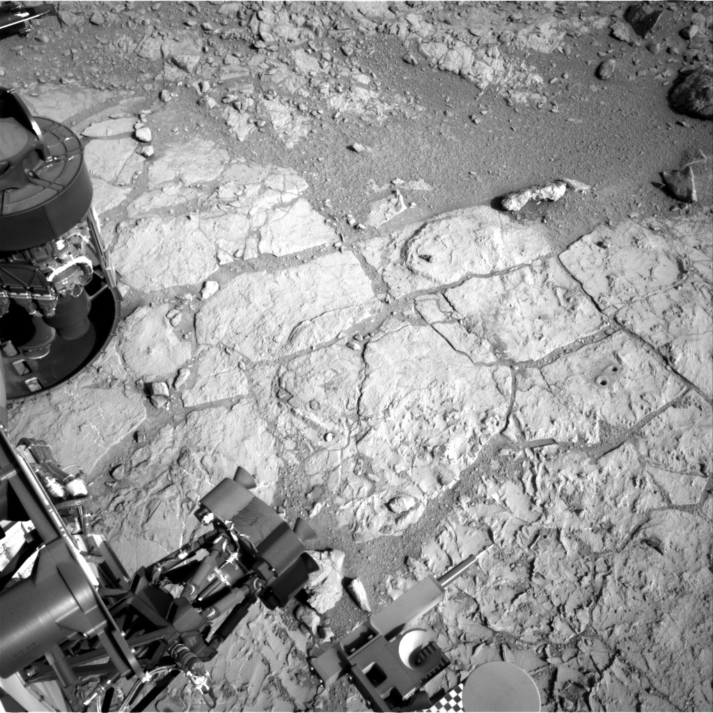 NASA's Mars rover Curiosity acquired this image using its Right Navigation Cameras (Navcams) on Sol 222