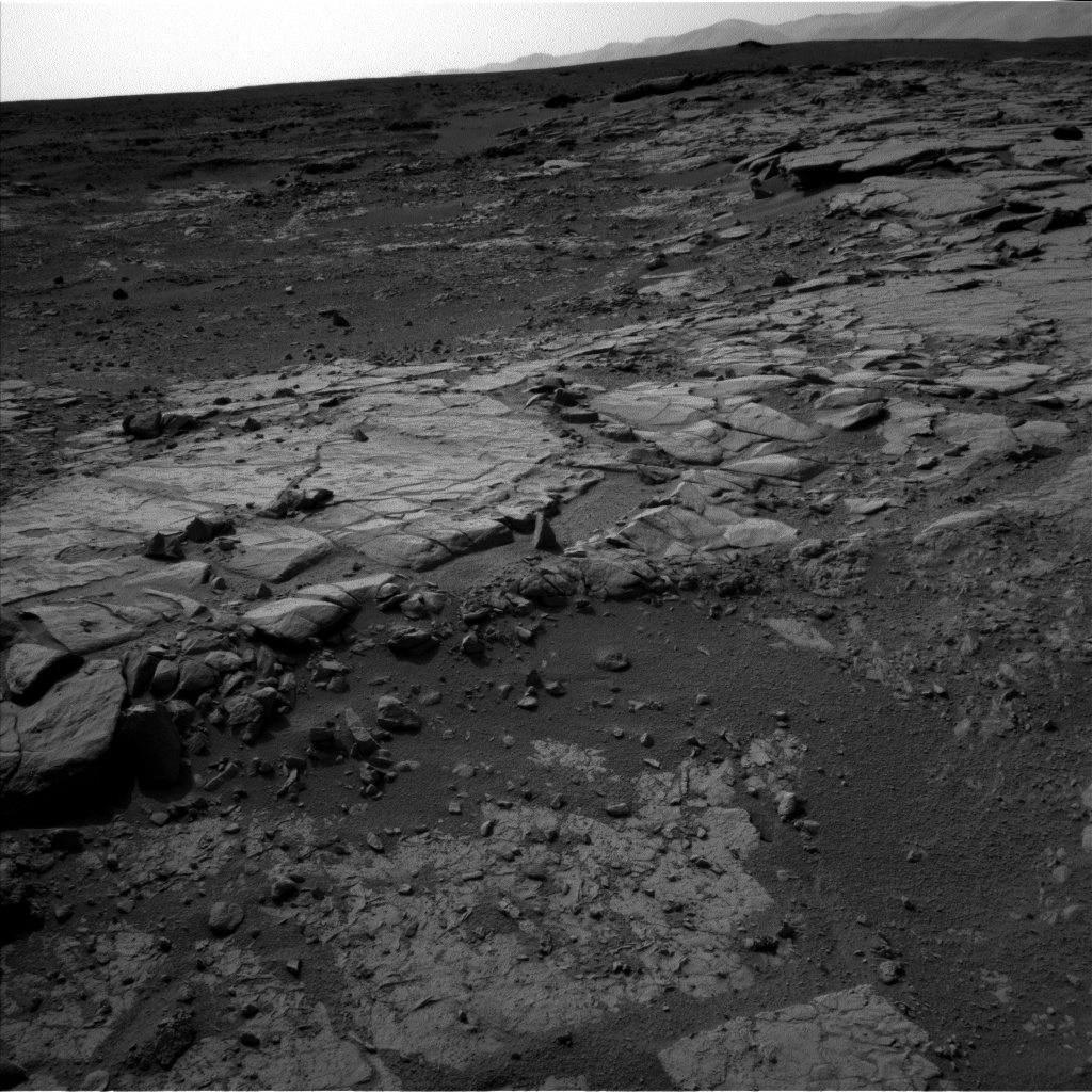 Nasa's Mars rover Curiosity acquired this image using its Left Navigation Camera on Sol 223, at drive 0, site number 6