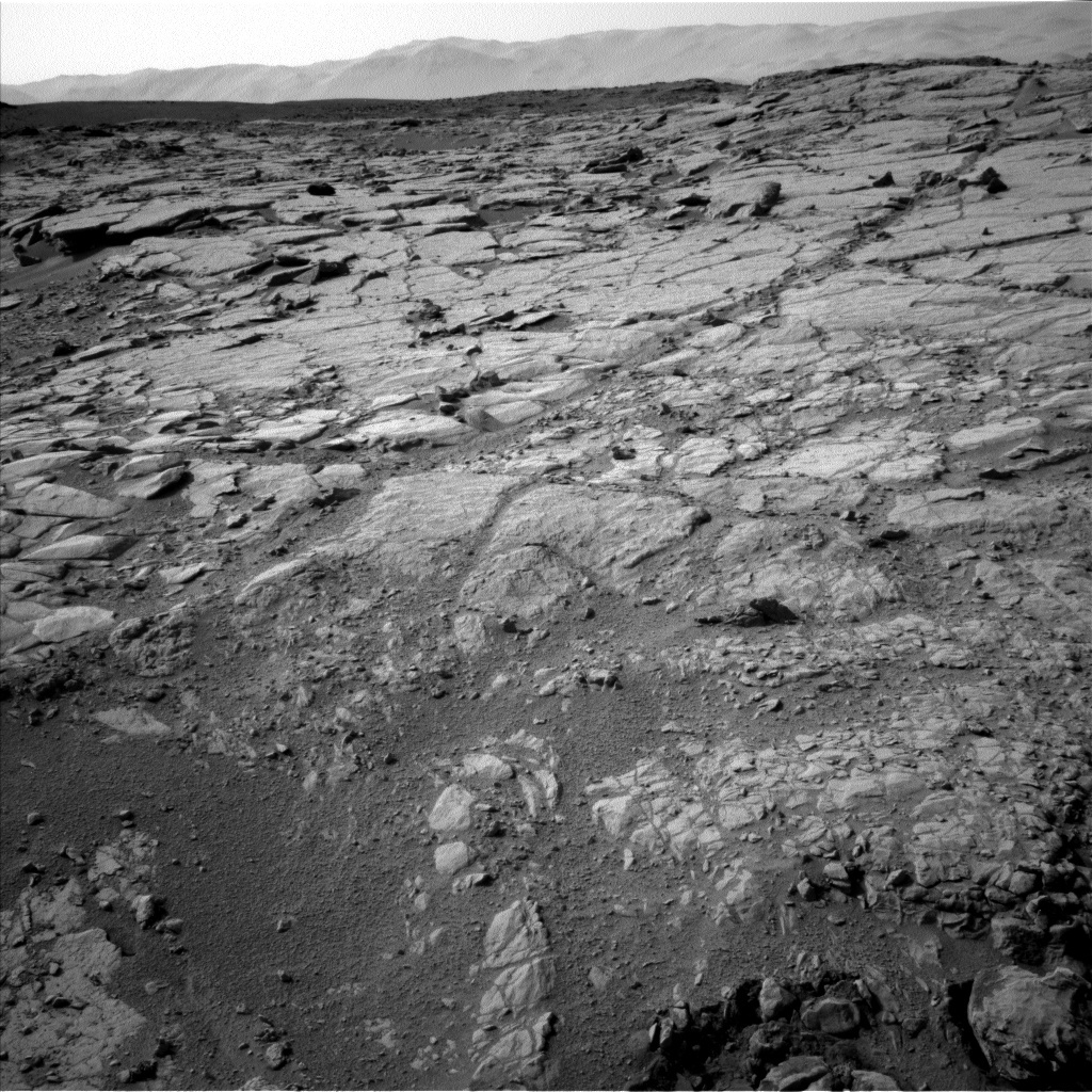 NASA's Mars rover Curiosity acquired this image using its Left Navigation Camera (Navcams) on Sol 223