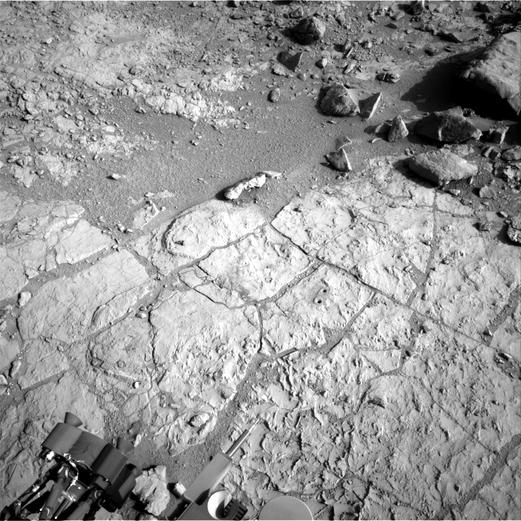 Nasa's Mars rover Curiosity acquired this image using its Right Navigation Camera on Sol 223, at drive 0, site number 6
