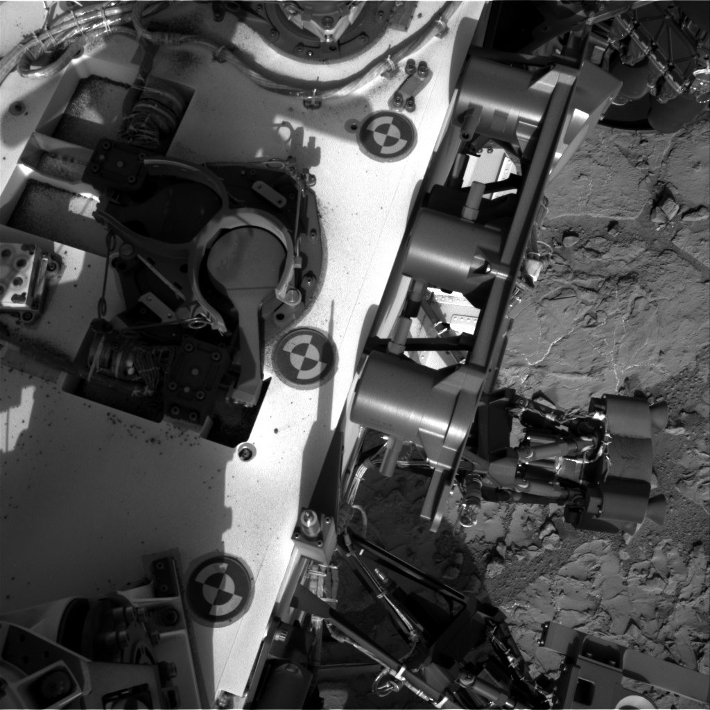 NASA's Mars rover Curiosity acquired this image using its Right Navigation Cameras (Navcams) on Sol 223