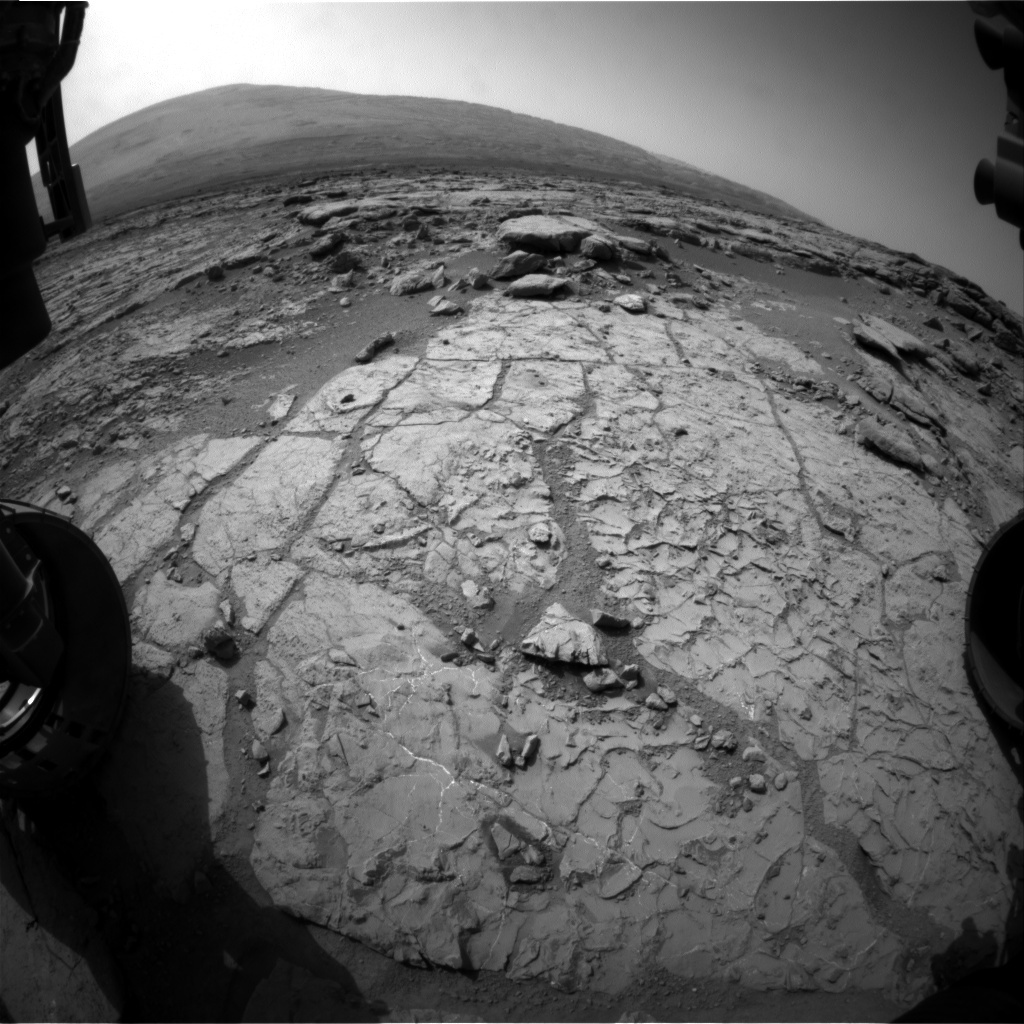 NASA's Mars rover Curiosity acquired this image using its Front Hazard Avoidance Cameras (Front Hazcams) on Sol 224