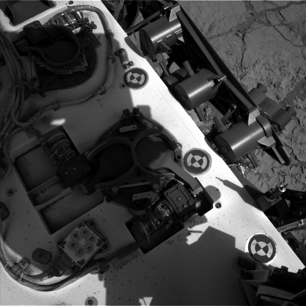 Nasa's Mars rover Curiosity acquired this image using its Left Navigation Camera on Sol 224, at drive 0, site number 6