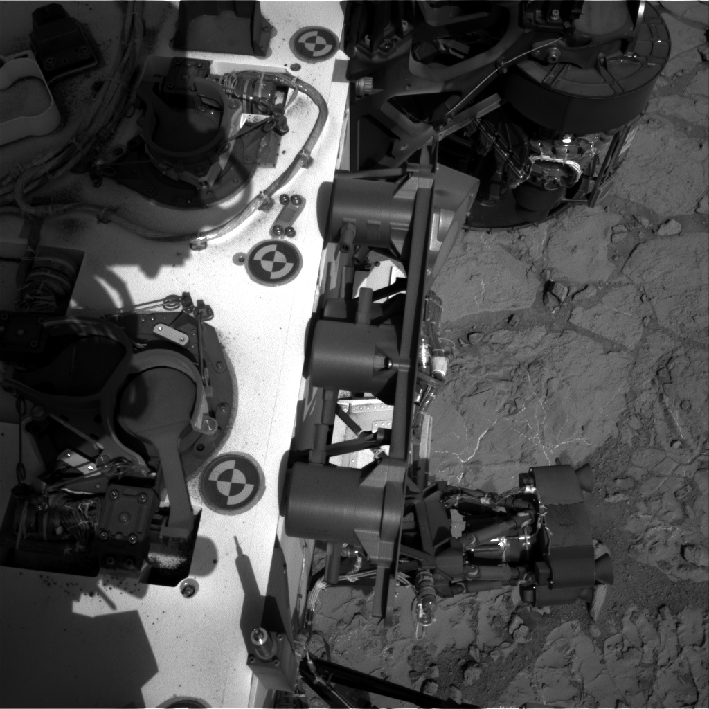 Nasa's Mars rover Curiosity acquired this image using its Right Navigation Camera on Sol 224, at drive 0, site number 6