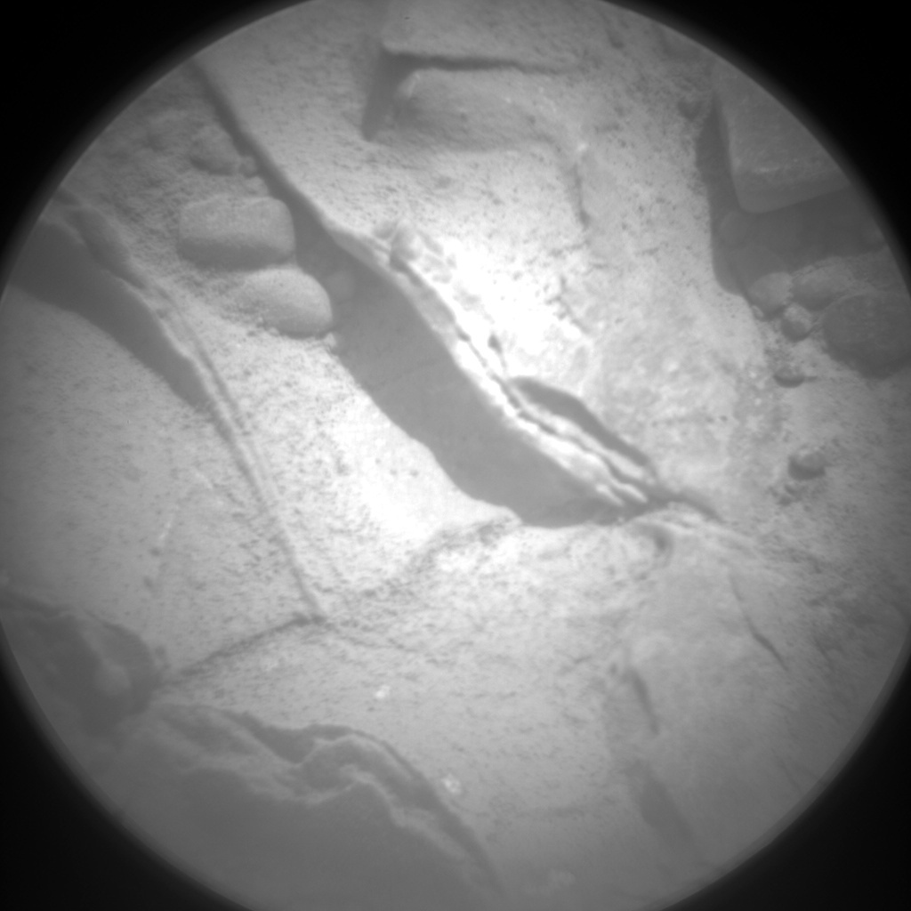 NASA's Mars rover Curiosity acquired this image using its Chemistry & Camera (ChemCam) on Sol 226