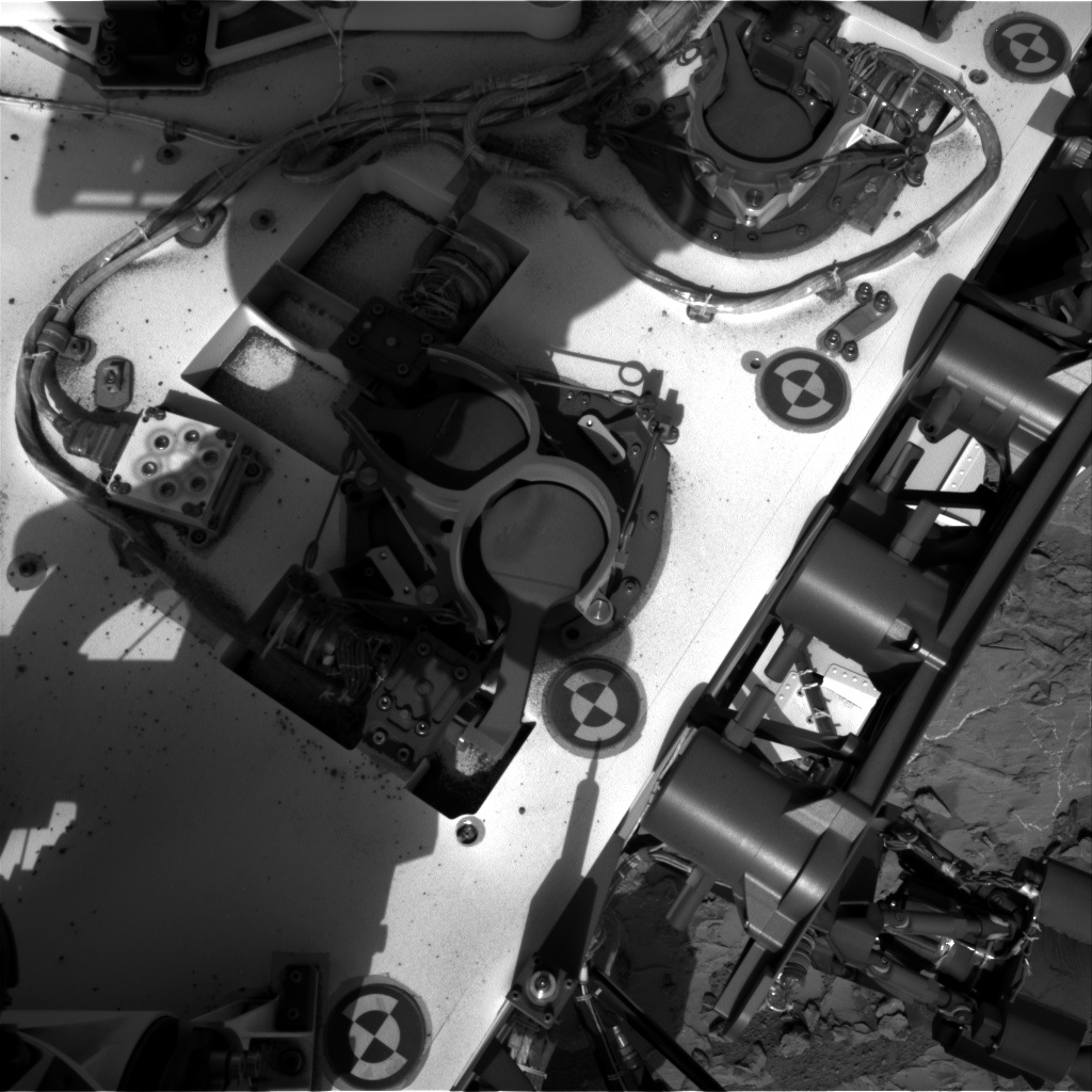 Nasa's Mars rover Curiosity acquired this image using its Right Navigation Camera on Sol 227, at drive 0, site number 6