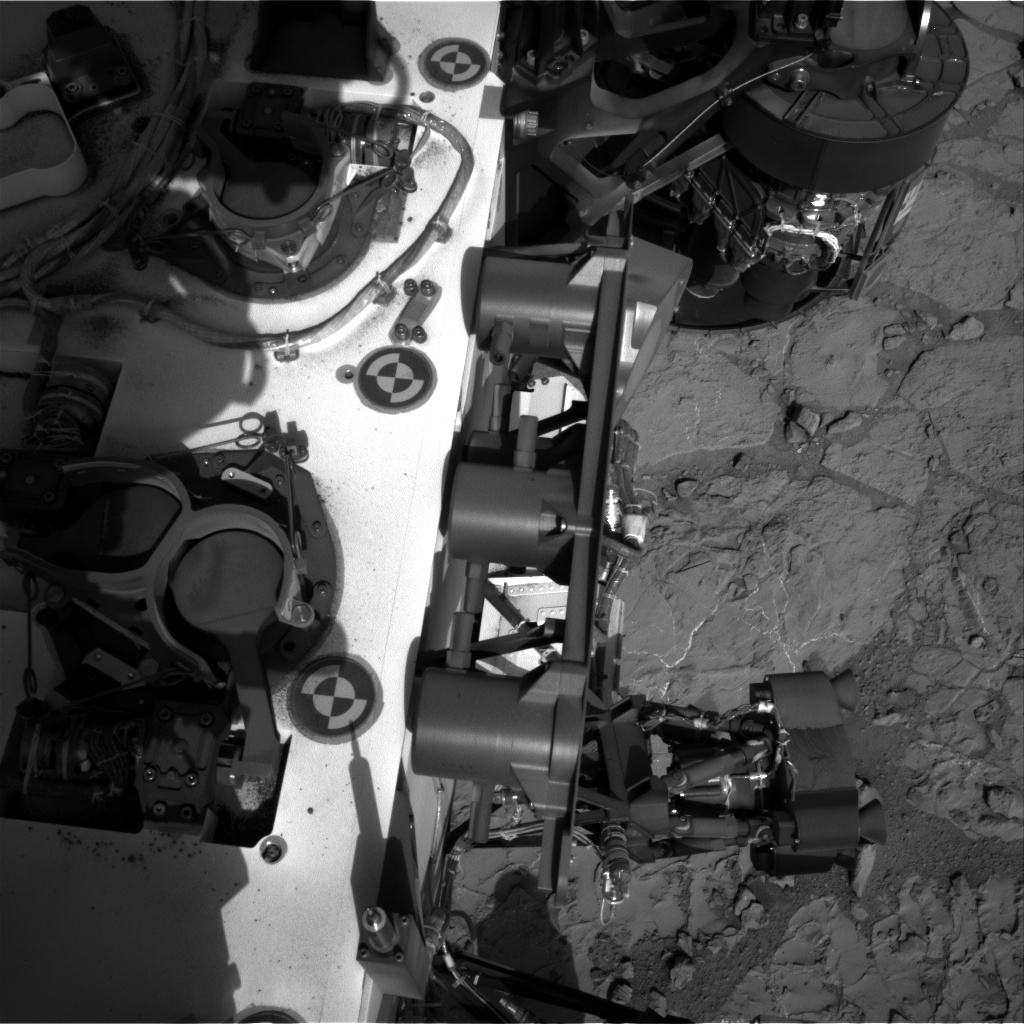 NASA's Mars rover Curiosity acquired this image using its Right Navigation Cameras (Navcams) on Sol 227