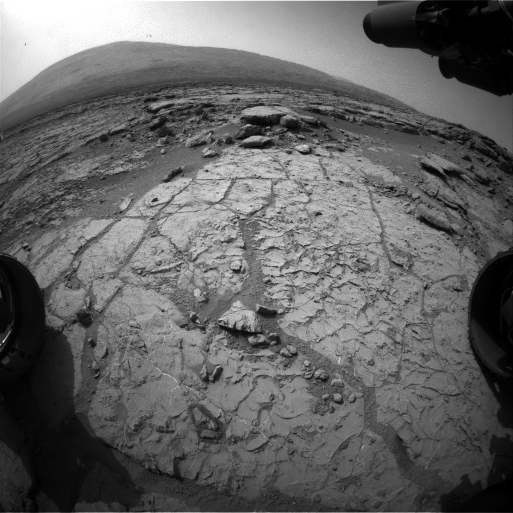 NASA's Mars rover Curiosity acquired this image using its Front Hazard Avoidance Cameras (Front Hazcams) on Sol 228