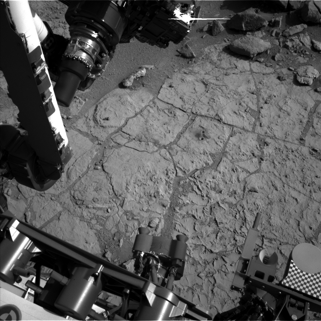 NASA's Mars rover Curiosity acquired this image using its Left Navigation Camera (Navcams) on Sol 229