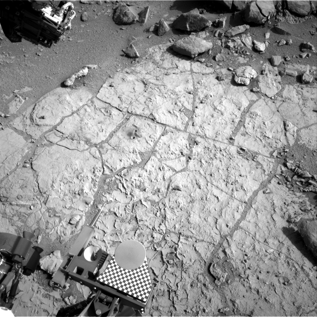 Nasa's Mars rover Curiosity acquired this image using its Right Navigation Camera on Sol 229, at drive 0, site number 6